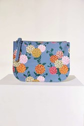 Urban Outfitters Medium Printed Pouch Blue
