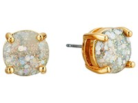 Kate Spade Small Round Stud Opal