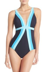 Women's Miraclesuit 'Spectra Trilogy' One Piece Swimsuit Mdn Midnight