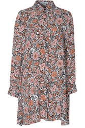 Alice And You Swing Shirt Dress Peach