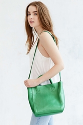 Bdg Mini Leather Tote Bag Green