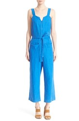 Women's Rachel Comey 'Bend' Crop Cotton Jumpsuit