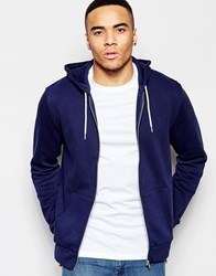 New Look Hoodie In Navy Navy