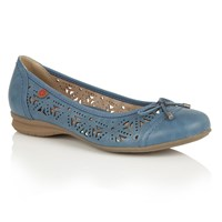 Lotus Relife Justyna Ballet Shoes Blue