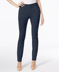 Alfani Seamed Skinny Pants Only At Macy's Modern Navy