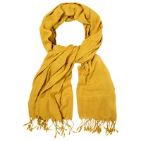 White Stuff Textured Scarf Turmeric Yellow