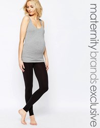 Mama Licious Mamalicious Over The Bump Legging Black