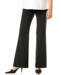 Motherhood Maternity Petite Flare Pants Black