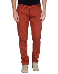 Fendi Trousers Casual Trousers Men Brick Red