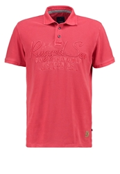 Tom Tailor Polo Shirt Sun Bleached Red