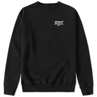 Off White Crew Sweat Black