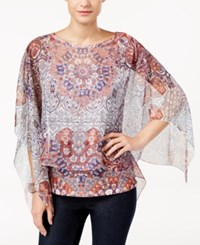 Styleandco. Style Co. Printed Poncho Top Only At Macy's Grand Orchestra
