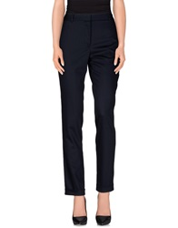 The Row Casual Pants Dark Blue