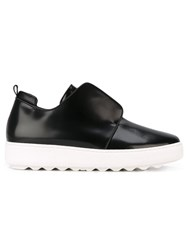 Philippe Model Slip On Sneakers Black