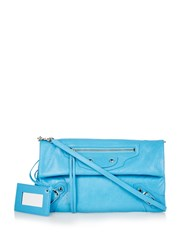 Balenciaga Classic Leather Envelope Clutch