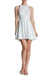 Women's Dress The Population 'Ginger' Sequin Fit And Flare Dress