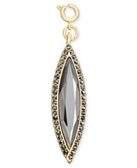 Inc International Concepts Gold Tone Navette Crystal Charm Only At Macy's