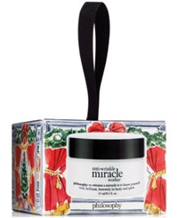 Philosophy Anti Wrinkle Miracle Worker Ornament 0.5 Oz No Color