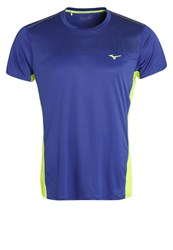 Mizuno Cooltouch Sports Shirt Clematis Blue