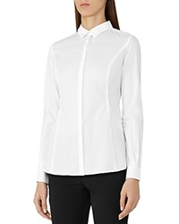 Reiss Ruben Core Work Shirt White