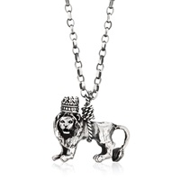 Momocreatura British Lion Necklace Silver