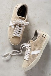 Anthropologie D.A.T.E. Stardust Sneakers Gold