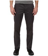 Huf Fulton Chino Pants Charcoal Heather Men's Casual Pants Gray