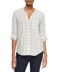 Soft Joie Anabella Plaid Georgette Blouse
