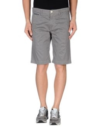 Manuel Ritz White Bermudas Emerald Green