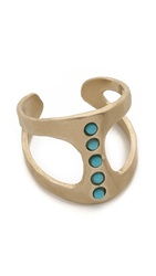 Pascale Monvoisin Georgia Ring Gold Turquoise