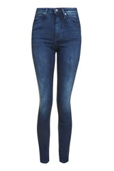 Calvin Klein Body 2.0 Skinny Mid Rise Jeans By Blue