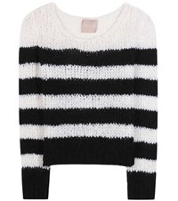 81 Hours Bella Knitted Sweater White