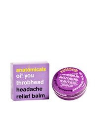Anatomicals Oi You Throbhead Headache Balm 20G Headachebalm