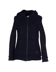 Maison Espin Jackets Dark Blue