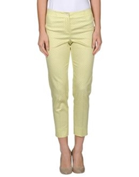 Ql2 Quelledue Casual Pants Acid Green
