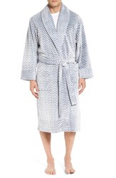 Daniel Buchler Men's Plush Robe Navy