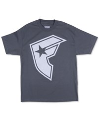 Famous Stars And Straps Famous Stars And Straps Men's Graphic Print T Shirt Charcoal