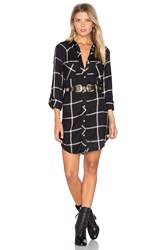 Tolani Tina Dress Black And White