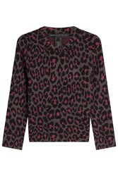 Marc By Marc Jacobs Animal Print Pullover Multicolor