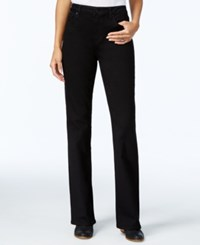 Tommy Hilfiger Black Wash Flare Leg Jeans Only At Macy's