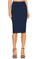 Bcbgmaxazria Leger Mini Skirt Navy