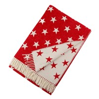 Bronte By Moon Star Throw Red
