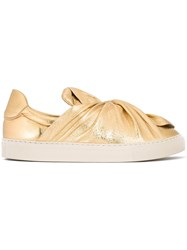 Ports 1961 Metallic Bow Sneakers