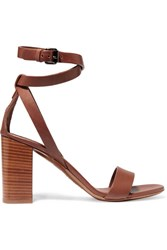 Vince Farley Leather Sandals Tan