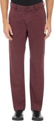 Barneys New York Garment Dyed Chinos Red