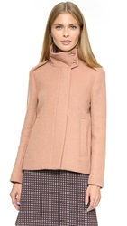 See By Chloe High Collar Jacket Brick Rose