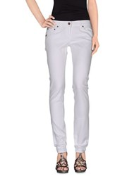 Daniele Alessandrini Denim Denim Trousers Women White