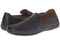 Geox U Xense Mox 7 Black Men's Moccasin Shoes