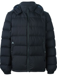 Burberry Brit Hooded Padded Jacket Black