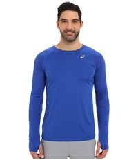 Asics Asx Dry Long Sleeve Airforce Blue Men's Long Sleeve Pullover